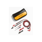 Test Lead Kit, Cat II - 300V, 39.37 in. L, Silicone Lead, Soft Carrying Case