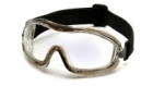 Goggles, Safety, Soft PVC Frame, Elastic Strap