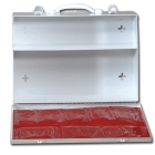 Industrial First Aid Cabinet, 2 Fixed Shelves, Bottom Door