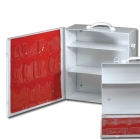 Industrial First Aid Cabinet, 3 Fixed Shelves, Side Door