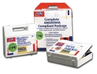 ANSI/OSHA Compliant 25 Person First Aid Kit