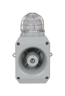 Electronic Horn, Industrial, 12-30VDC, 0.436A, Gray