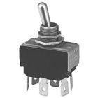 Bat-Handle Toggle Switch DPST On-Off (maintained) 20A/125Vac 10A/250Vac 20A/28Vdc