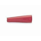 Alligator Clip Insulator Red Vinyl