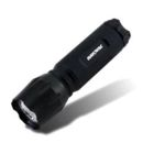 Utility Flashlight LED, Aluminum, Black