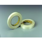 Filament Tape, 60 yd L x 0.47 in. W, General Purpose Grade, Polypro Backed Filament