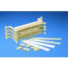 Termination Kit, 5e Category, 4/5 Pair Blocks, Electric Ivory, 100 Pair