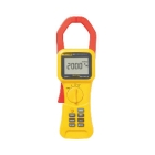 Clamp Meter, 0-1000V AC/DC, 0-2000A, 0-400k Ohms, 5-999Hz, LCD Display, Measures: Current AC/DC