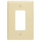 Rectangular Opening Plate Ivory Thermoset (1) Decorator/GFCI