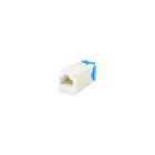 Modular Jack, IDC-Press-Fit, 8-Wire RJ45, Cat 6A, White