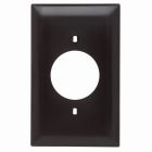 Receptacle Plate Brown Nylon (1) Outlet Hole 1.60 ID