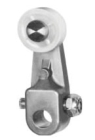 Limit Switch Operating Lever, Steel Roller, 0.75 in. Dia x 0.75 in. W Roller