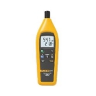 Temperature Humidity Meter, -20 to 60 deg C, Single Input, MIN/MAX/AVERAGE Recording, (4) AAA Battery