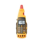 Milliamp Process Clamp Meter, 2mA, 5-500Hz, LCD Display, Measures: Current, Voltage DC