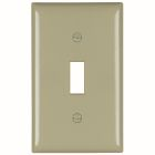 Toggle Switch Plate Ivory Thermoset (1) Toggle Switch