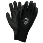 Gloves, Dipped, Gripper Style, PVC Palm, X-Large