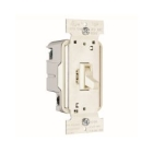 Wall Dimmer Light Almond Toggle On-Off