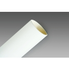 Tubing,  Heat Shrink; Flexible Polyolefin; 3/8 in.; White; (3) 100 ft. Spools