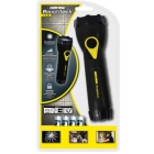 Utility Flashlight Black Plastic AA