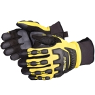 Gloves, Mechanic's, PVC Palm and Back, Medium