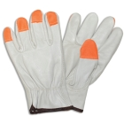 Gloves, High-Visibility Grain Cowhide Drivers; X-Large