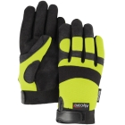 Gloves, Cut-Resistant Mechanics Four Layers in Palm/Two Layers in Fingers; Large