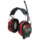 Digital AM/FM Radio Earmuff; NRR 25dB