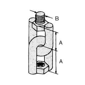 Abb Installation Products E131 1 2 Threaded Rod Swivel