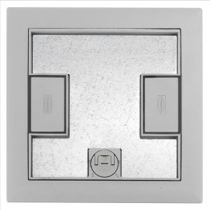 Hubbell Lcfbcgya Floor Outlet Box Cover