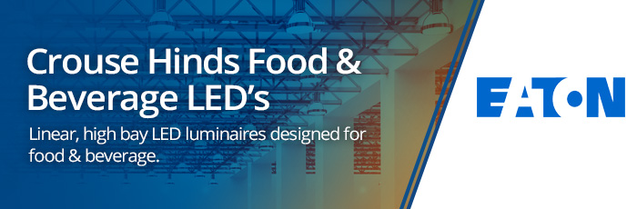 Crouse Hinds Food & Beverage LEDs